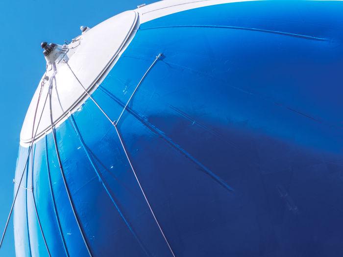 Zeppelin Close-up Sky Hanging Blue Aircraft Gry Et L'aventure