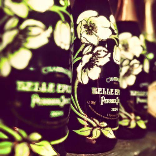 champagne shelfie Belle Epoque Bottles Champagne Perrier-Jouët Selective Focus Shelf Shelfie Still Life