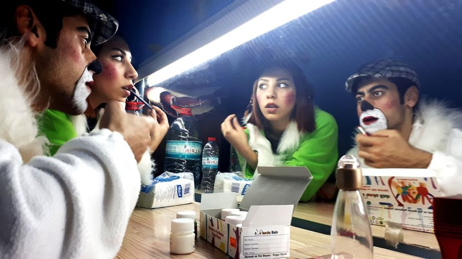 Back Stage... Act Actor Make-up Theater Thater Acting Mirror EyeEm Selects Young Women Women Men Friendship Arts Culture And Entertainment