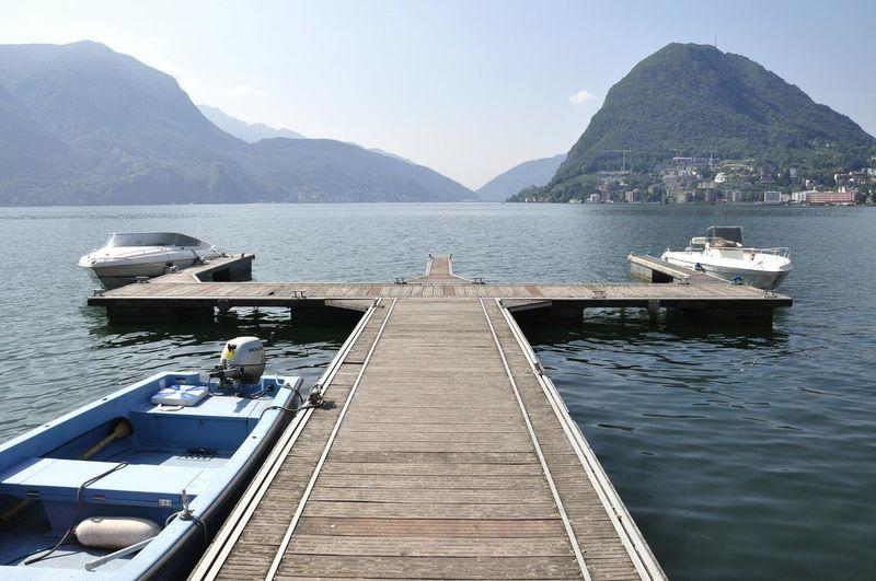 Lago Di Lugano  Luganersee Switzerland Roadtrip