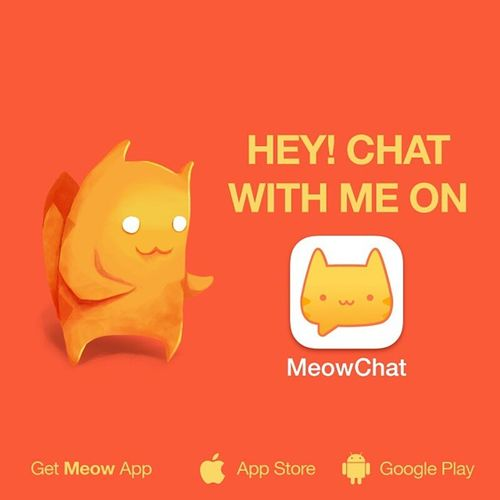 Let's chat on Meow: lisette98garza. Get the App here: @MeowApp or http://meowch.at/app Meowchat