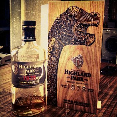 A Lovely Chilled evening with some vintage highland park that's as old as I am, some classic Miles Davis and great company whiskey tango foxtrot
