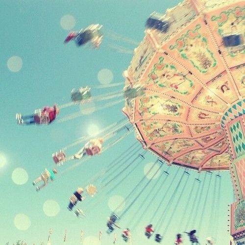 Having Fun Flying Chair Carnival