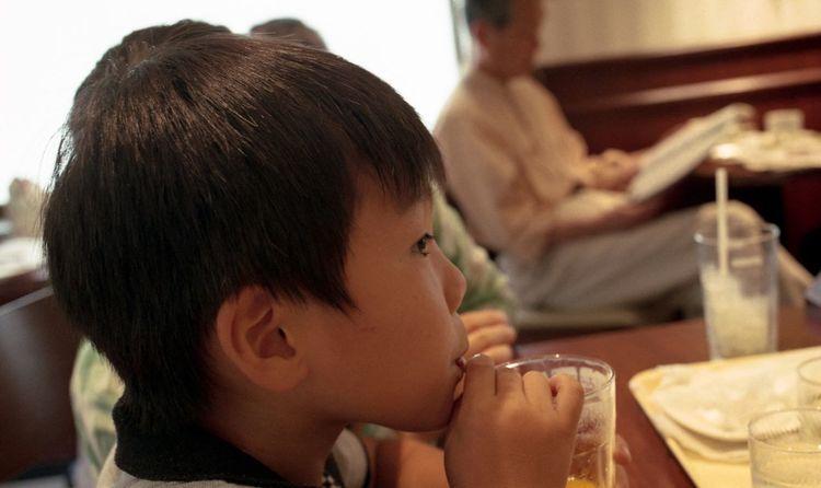 My Son My Son :) Drinking MacDonald Eos1v Film Camera EyeEm EyeEm Best Shots