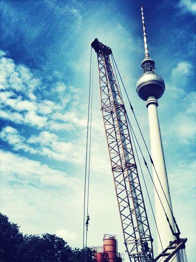 Made Of Steel City Berlin Alexanderplatz