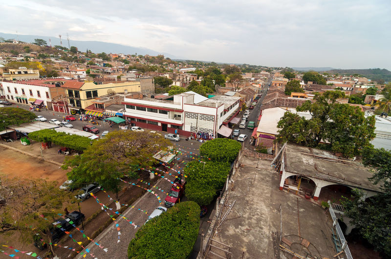 View of Chiapa de Corzo, a small town in Chiapas, Mexico Architecture Beautiful Building Chiapa De Corzo  Chiapas Chiapas, México Church City Landscape Mexico Old Outdoor Scenery Sky Small Tourism Tourist Town Traditional Travel Vacation View Village