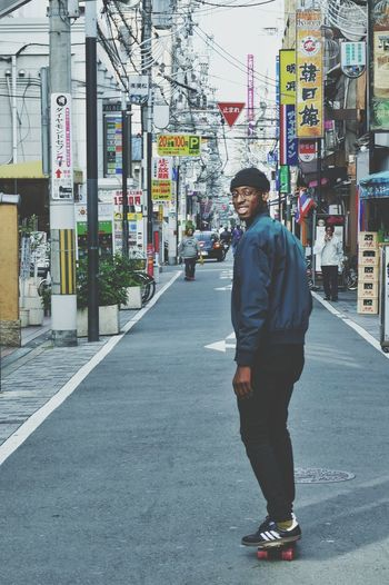 EyeEmNewHere Japan OSAKA Skateboarding Brother Fun Urban City Streetphotography Portrait Day Lifestyles Chilling Out