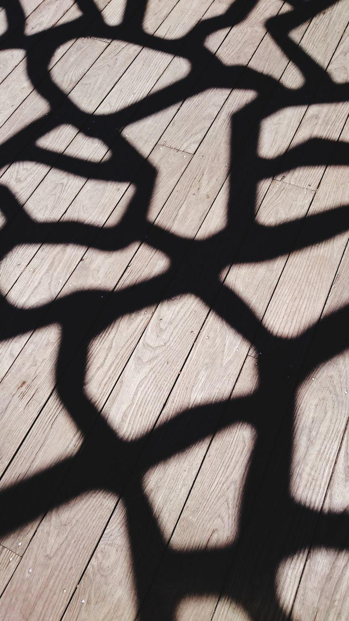 HIGH ANGLE VIEW OF SHADOW ON FLOOR DURING SUNNY DAY