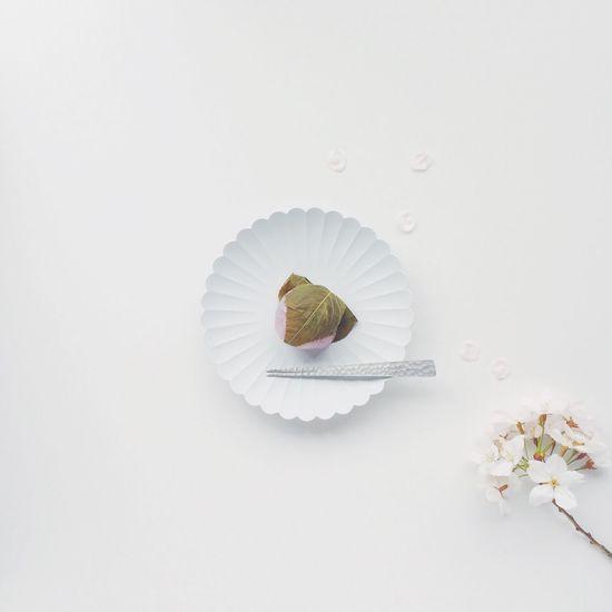 桜餅 さくらもち Sakura Ricecake 和菓子 Food Foodporn Foodphotography Food Porn