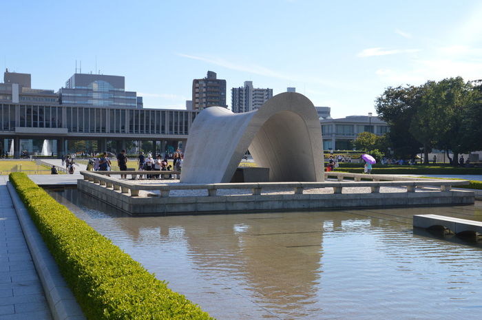 Hiroshima Peace Monument Japan Japan Japanese  Peace Hiroshima Monument Park Remember Victims War World