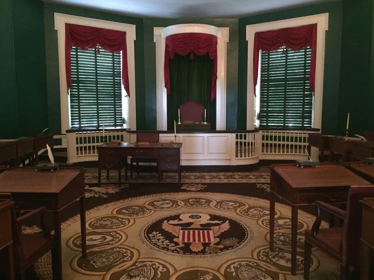 Philadelphia Taking Photos IndependenceHall United States the first us senate room in Independence Hall