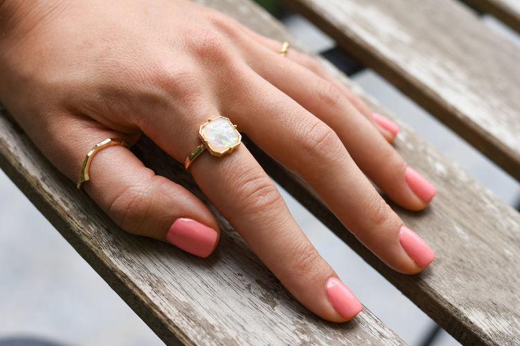 Manicure Human Hand Fingernail Married Manicure Nail Polish Arts Culture And Entertainment Wedding Ring Hand Human Finger Diamond Ring Platinum Diamond - Gemstone Gemstone  Jewelry Jeweller Diamond Shaped