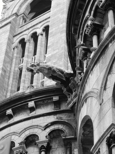 Gargoyle Architecture_bw Check This Out Rain Spout Pictures Tell More Then Stories OpenEdit Streetphotography If Walls Could Talk Up Close With Street Photography Blackandwhitephotography Black And White Collection  From Where I Stand Up Close Street Photograpy
