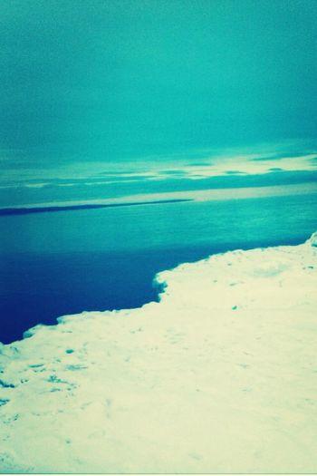 My christmas break in duluth :) Lakeshore Snow Winter Break  Waterscape