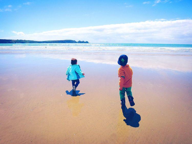 Relaxing Bretagne Bretagnetourisme Breizh Beach Landscape Summer Kids Kids Being Kids Holidays
