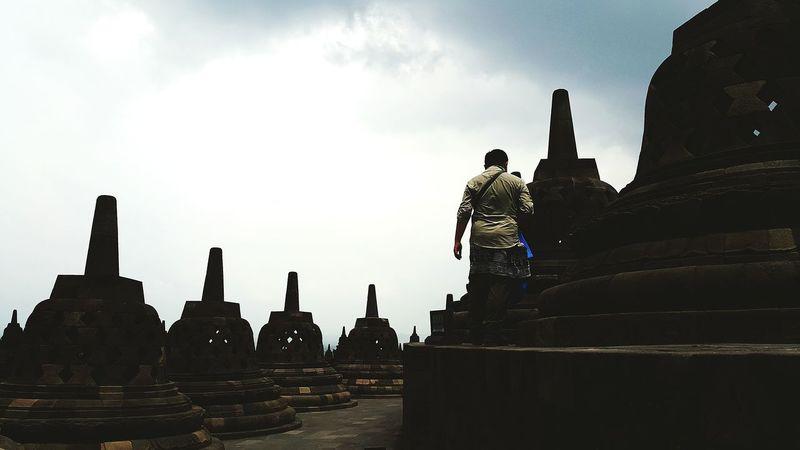 Best moment.. MyTripMyAdventure Candiborobudur Bestshot BeautifulIndonesia Columbia