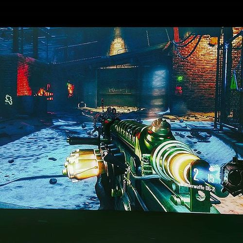 Zombie killa right here 😈 CallOfDuty Blackops3 Zombies  Packapunched Raygun Killzombies XboxOne Videogames Instakill
