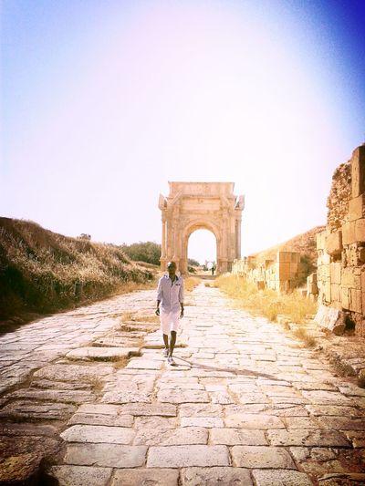 Leptis Magna That's Me Taking Photos Enjoying Life