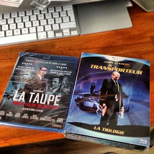 Récolte Blu-Ray suite : La Taupe et le coffret trilogie Transporteur !