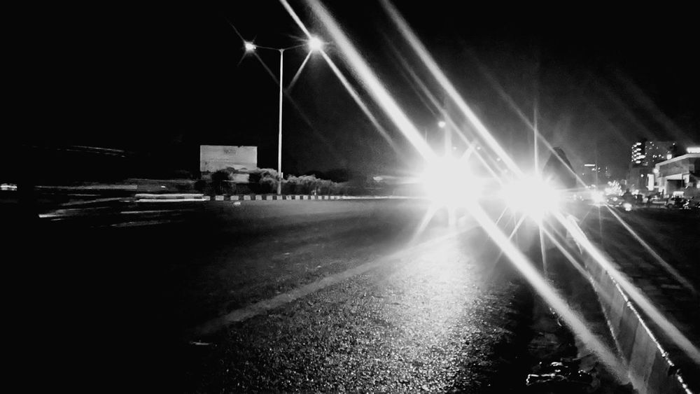 Night Lights Highhway Justclick