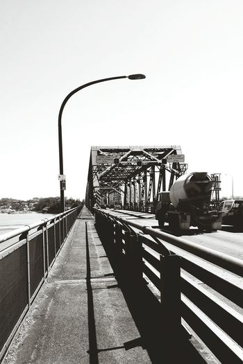 Half Marathon 2nd time ran through Tom Ugly Bridge by FeBird during Morningrun Mobilephotography Mobile Photography B&w