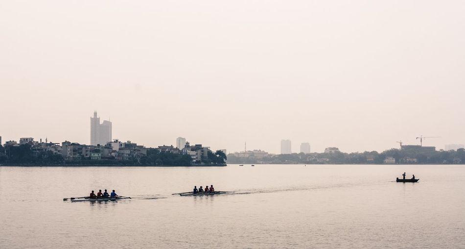 Westlake Tây Hồ Hồ Tây Lake Rowing Rowing Club Novice Vietnam Hanoi, Vietnam Street Photography Hanoi Vietnam  Up Close Street Photography Hanoi POTD