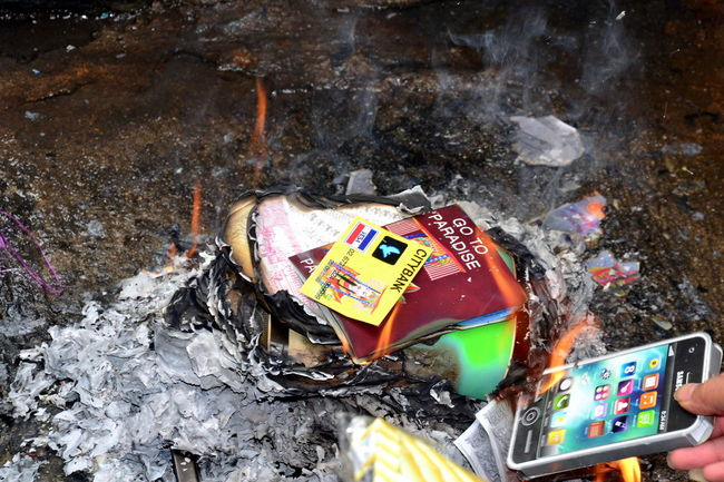 Day Destruction Fire Flames Flames & Fire Flames Burning Flames Orange Incinerate Incineration No People Outdoors Technology Wireless Technology