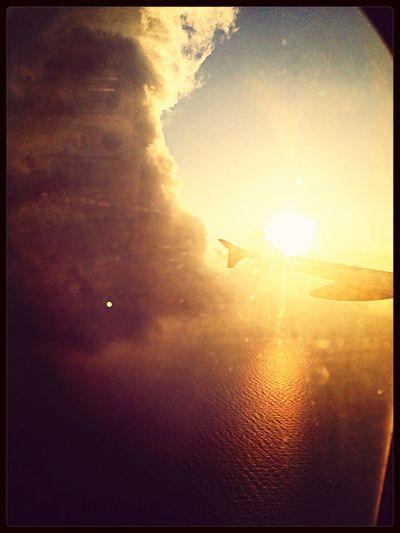 Bangkok Airways Plane JetSet from an airplane window