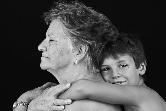 Transparencia....Transparency Black And White Two People Studio Shot Child Headshot Childhood Black Background Portrait People Human Body Part Togetherness Adult Real People Happiness Oldman Special Moments Black&white Blanco&negro See The World Through My Eyes Woman Who Inspire You Purist No Edit No Filter From My Point Of View Mature Adult Simple Beauty Grandmother And Grandchild