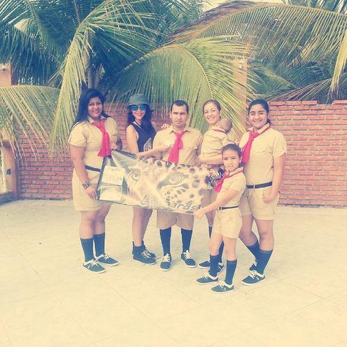Ganadores mejor equipo de Boy Scout.. ♡ ReencuentroFamiliarEspinel2014 VillamilPlayas .. Yujuu jaja..