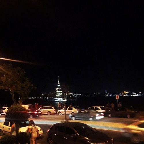 Istanbul Istanbullife Maiden_Tower Türkiye Turkey Travel Journey Night