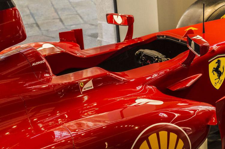 Ferrari Ferrari Team Scuderia Ferrari Close-up Day F1 F1 Far Formual 1 No People Outdoors Red