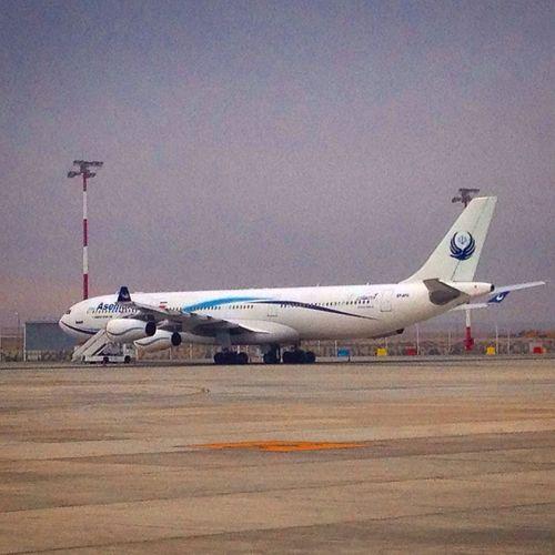 A340 of IranAsemanAirline