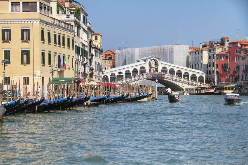 Venice, Italy Rialtobridge