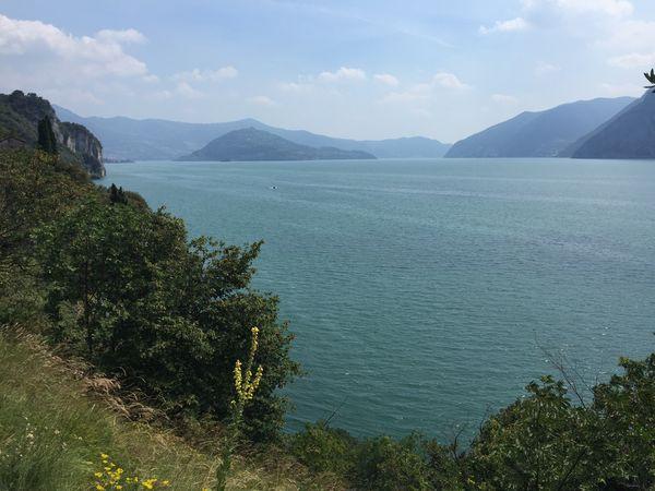 Lake Lake View Landscape View Panoramic Island Iseo Lake Lakeshore Lake Iseo (italy)