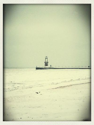 love the beach Deep Winter
