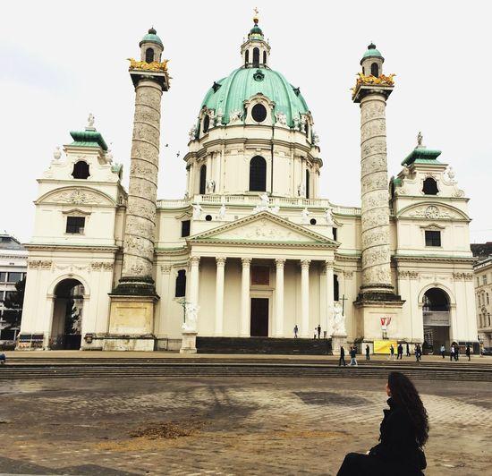 The City Light Viena, Austria Travel Destination Church Tower