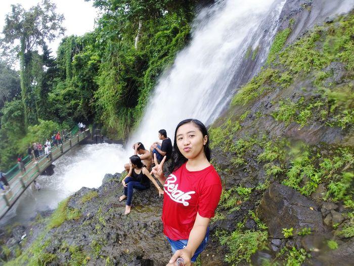 Waterfall Nature Beaytifulview Wonderfulindonesia Lingkarindonesia Lombokisland