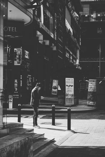 Streets Of Myeongdong 2016: Light And Shadow MyeongDong Seoul South Korea Travel The Street Photographer - 2016 EyeEm Awards Street Photography Light And Shadow