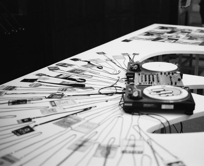 music cue. Turntable Leica Leicam3 Summilux50 35mm Film Filmphotography Fujifilm FujiAcros100 Fuji 360sounds Music Arts Culture And Entertainment Table Close-up