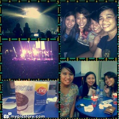 Major Flashbackfriday moment: snow patrol's concert last year with @tinisyay @patchbee @dancingalmonds Snowpatrol GoodTimes Flashback