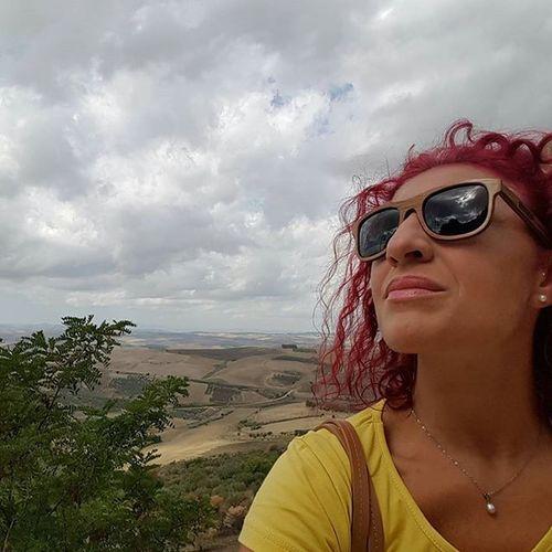 Finalmente fresco e nuvole... 😌 Puglia Provinciadifoggia Gargano Domenica Sunday Clouds Greysky Landscape Settembre2015 Volgopuglia Volgofoggia Thisispuglia Lovespuglia Selfie Haircolour Haircolor