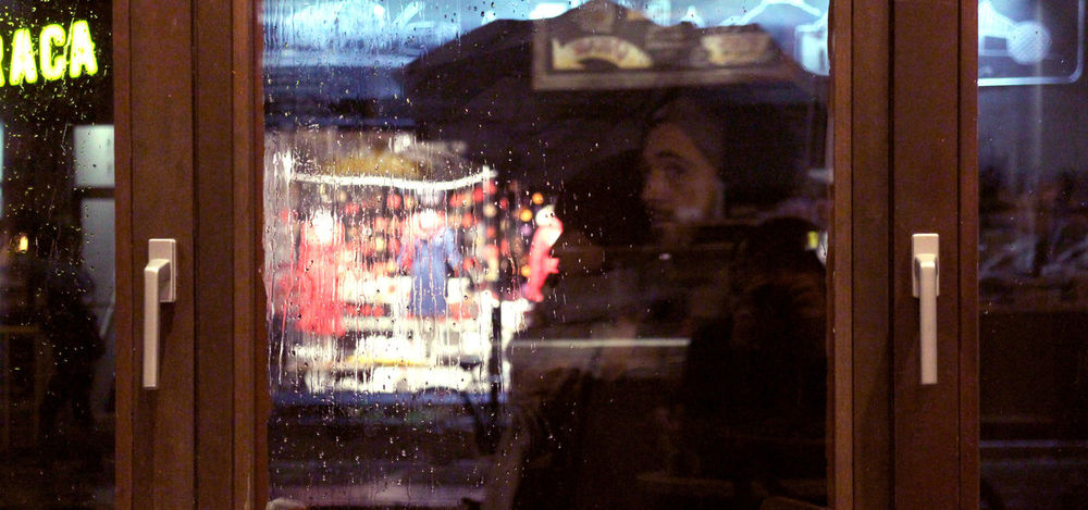 Photos taken in and around Montreal, fall of 2018. Montréal City Urban Streetphotography Window Glass - Material Transparent Reflection Store Wet Incidental People Rain Retail Display Glass Consumerism Voyerism Padestrian People