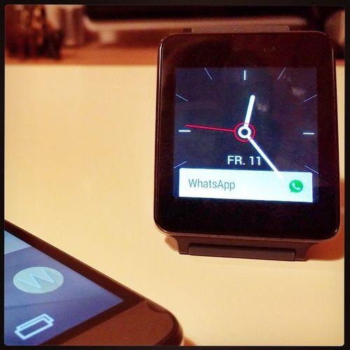 Die Lggwatch macht echt Spaß. Braucht man sie zwingend? Nein. Aber was braucht man schon zwingend? 😀 LG  Gwatch LGG3 G3
