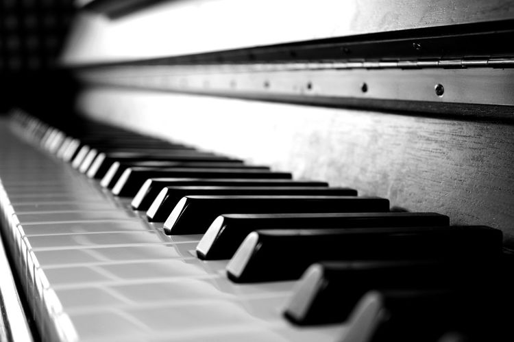 Music is the language of passion. - Die Musik ist die Sprache der Leidenschaft. Arts Culture And Entertainment Blackandwhite Close-up Day Home Home Is Where The Art Is Indoors  Lukas_Growyn Music Musical Instrument No People Oneplus3T Photography Piano Piano Key View Piano Moments Piano Moments Welcome To Black EyeEmNewHere TCPM EyeEm Selects