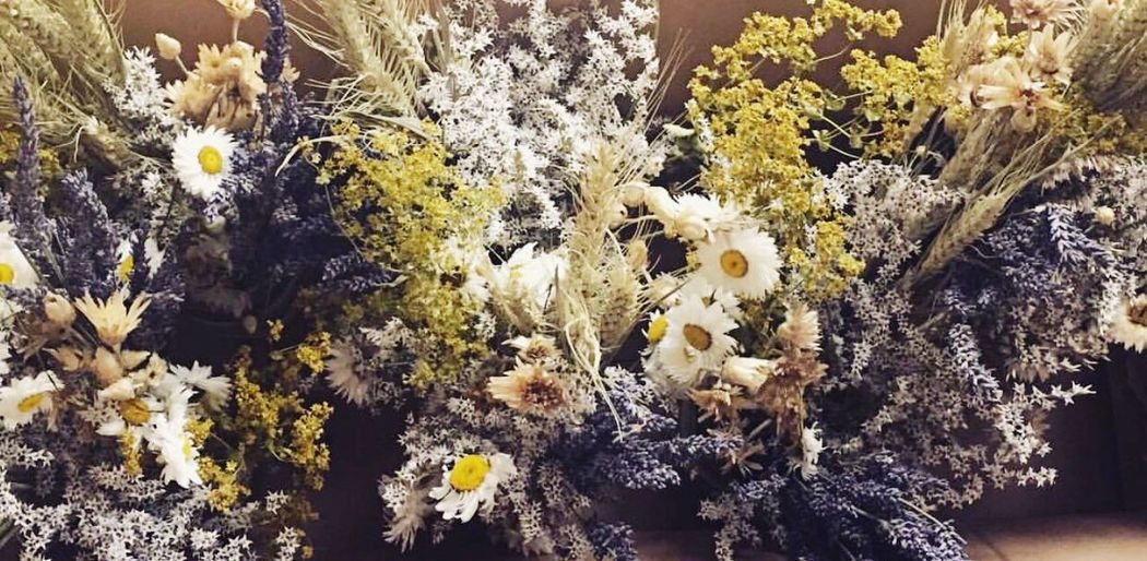 WeddingFlowers Driedflowers Rustic