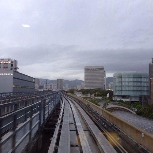 ポートアイランド上陸! (´・Д・)」 Sky Kansai ソラ 空 雲cloudkobe