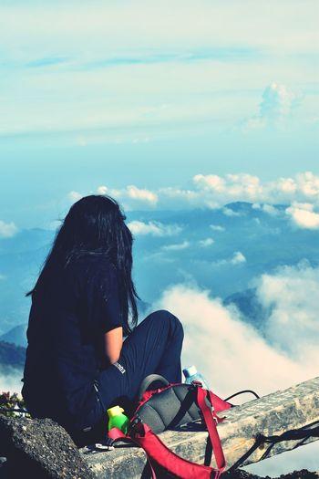 a women in mountain gede pangrango - indonesia Women Mountain Indonesia Photography  Bogor Hiking Travel Camping Summit Attack Gede Mountain Gunung Gede EyeEm EyeEm Best Shots EyeEmNewHere EyeEm Nature Lover EyeEm Gallery Eyeem Market INDONESIA