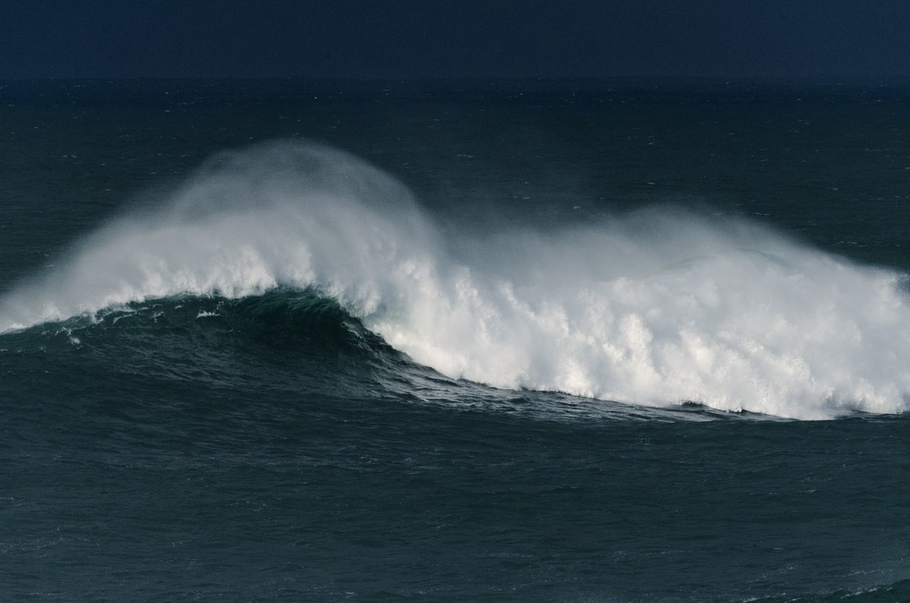 Strong Wave Of Sea
