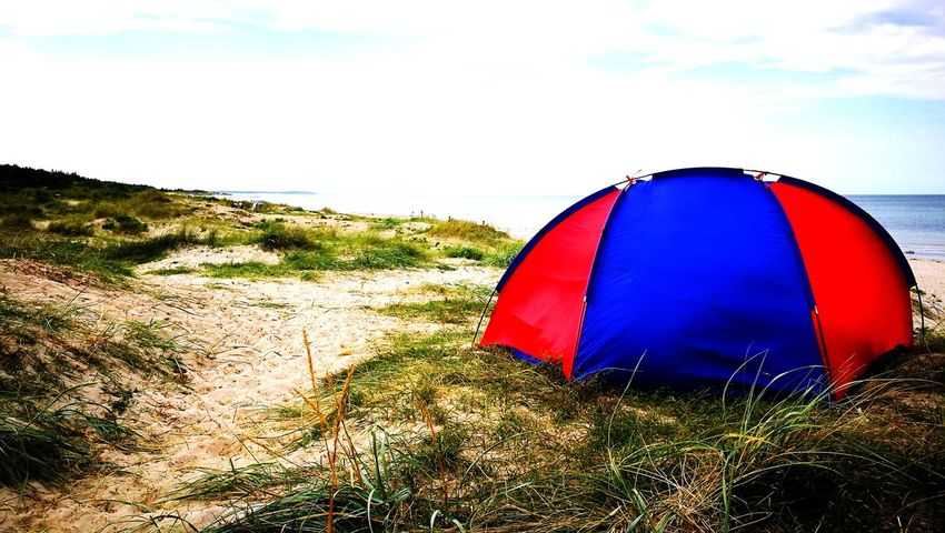 Sea Beach Day Water Summer Tent Outdoors Vacations Lifestyles Sunlight Summertime Foto Shelter